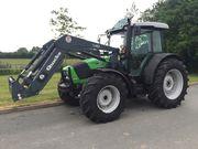 Deutz Agrofarm 100 4Wd Tractor With Quicke Q40 Loader