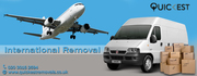 Quickest removals is offering the international removal service at eco