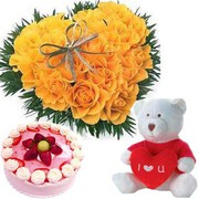 Send Valentine Day Gifts to India From UK