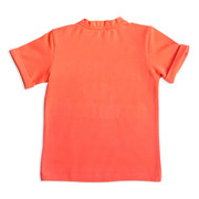 Trendy Baby Boy T-shirt in Coral by G&B Baby – TutaKids