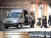 Luxury Minibuses for corporate business meetings and conferences