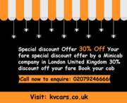 Special discount Offer 30% Off Your fare