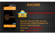 Special  discount 20% off your fare