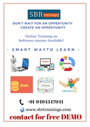 Hadoop and Bigdata Online traning by by SBR Trainings from Hyderabad.