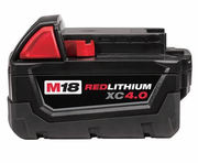 MILWAUKEE M18 48-11-1840 Lithium Ion 4.0Ah 18V Battery