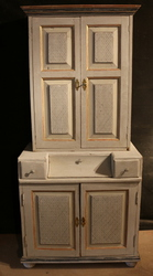 Antique Pine Painted Country Furniture,  Decorative Accessories