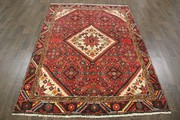 Buy Traditional Persian Hamedan Rug 7X4.9