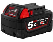 Milwaukee M18B5 48-11-1850 18V NEW 5.0ah Red Lithium Battery