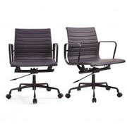 Limited Edition Black Eames Style Office Chairs