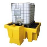 Plasticpalletsltd.co.uk Announces the Launch of New IBC Spill Pallets