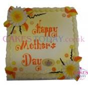 Flowers Delight (Orange & Yellow) for Mum Cake