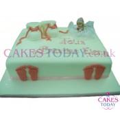 Baby Feet Cake