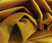The quality Yellow Velvet Upholstery Fabric