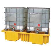 IBC Spill Pallet for 2 x 1000ltr IBCs (no deck) – BCBB4