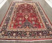 Buy Traditional Persian Kashmar Rug 10.8X8.2