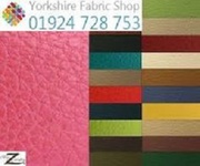 Our range of Fabulous Leather Upholstery Fabric