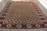 Buy Traditional Persian Torkaman Rug 10.1X8.8