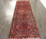 Buy Traditional Persian Hossienabad Rug 9.2X3.7