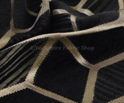 Our range of Black upholstery fabric in many colors and qualities