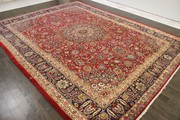 Antique Traditional Persian Handmade Carpet Rug 9.8 X 12.5