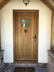 Oak Contemporary Doors - TimberMaster LTD