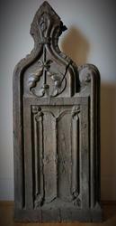 Decorative Wooden Wall Panels,  Gothic Sculpture,  Oak Corbels