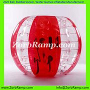 Zorb Bubble Football Bumper Ball Aqua Zorbing for Sale | ZorbRamp.com