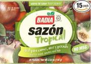 Badia Sazon Tropical 100g (20 Packets)