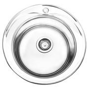 Cambridge 1 Bowl Polished Stainless Steel Sink & Waste Kit