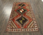 Buy Traditional Persian Shiraz Rug 6.3X4