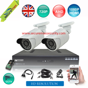 Full HD CCTV Complete System,  Easy to install