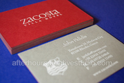 Cotton Business Cards on thick 600gsm