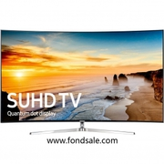 Samsung UN65KS9500 Curved 65-Inch 4K Ultra HD LED TV 2016 Model BUNDLE