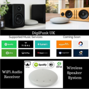 Make your Home Audio System Wireless with WiFi Audio Receiver