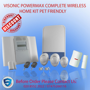 VISONIC POWERMAX COMPLETE WIRELESS HOME KIT PET FRIENDLY UK SELLER