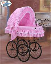 Baby Cribs | Wicker Cribs | Toddler Cots | Moses Baskets | Doll Prams