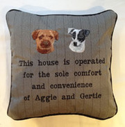 Bespoke Cushions At Fun Cushions In Surrey,  UK