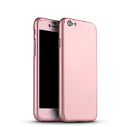 360 Degree Protection Ultra Thin Case Compatible For iPhone 7 - Rose G