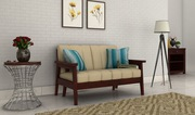 Get amazing Deals on 2 seater sofa at Wooden Space