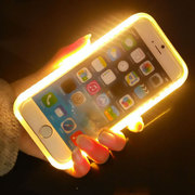 Selfie LED Light Case Compatible For iPhone 6 - White