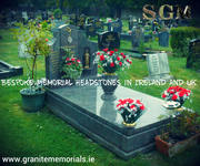 Bespoke Memorial Headstones in Ireland and UK