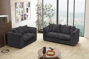 Buy Logan 3 + 2 Seater Sofa Set with Jumbo Cord at Suitable Costs