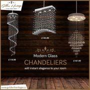 Shop Online for Vintage Glass & Crystal Chandeliers