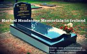 Kerbed Headstone Memorials in Ireland