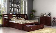 Double Beds - Get Upto 60% Off on Double Beds Online