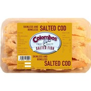 Colombos Cod Skinless & Boneless Salted Fish 250g (Box of 3)