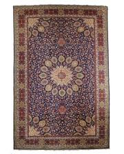 Traditional Persian Tabriz Rug 16.4x9.8