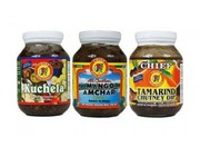 Chief All Caribbean Kuchela,  Mango Amchar & Tamarind Chutney (One of E
