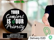 Man and Van Service in UK - DeliveryD2D
