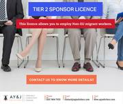 Tier 2 Sponsor Licence Services by A Y & J Solicitors
